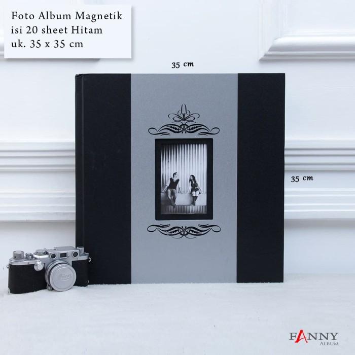 harga Foto album magnetik jumbo isi 20 sheet jb-20 h / 01 hitam Tokopedia.com