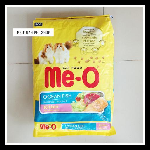 harga Me-o kitten rasa ocean fish / makanan kucing / cat food net 7 kg Tokopedia.com