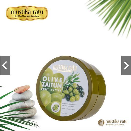 harga Mustika ratu zaitun body butter - 200gr lotion cream badan tubuh Tokopedia.com