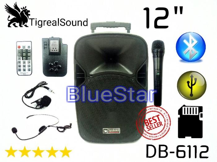 harga Speaker portable amplifier wireless tigrealsound db 6112 - 12 inch Tokopedia.com