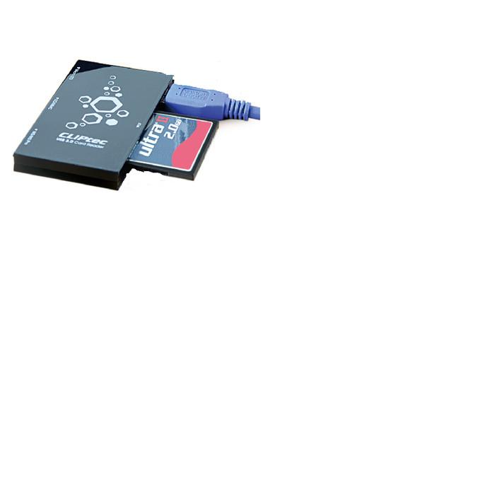 Foto Produk CLiPtec JAGUARA USB 3.0 All In 1 Card Reader RZR364 dari Okegadgets