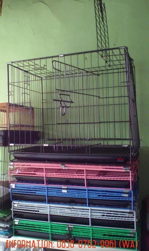 harga Kandang besi lipat untuk kucing kelinci anjing & hewan lainnya Tokopedia.com