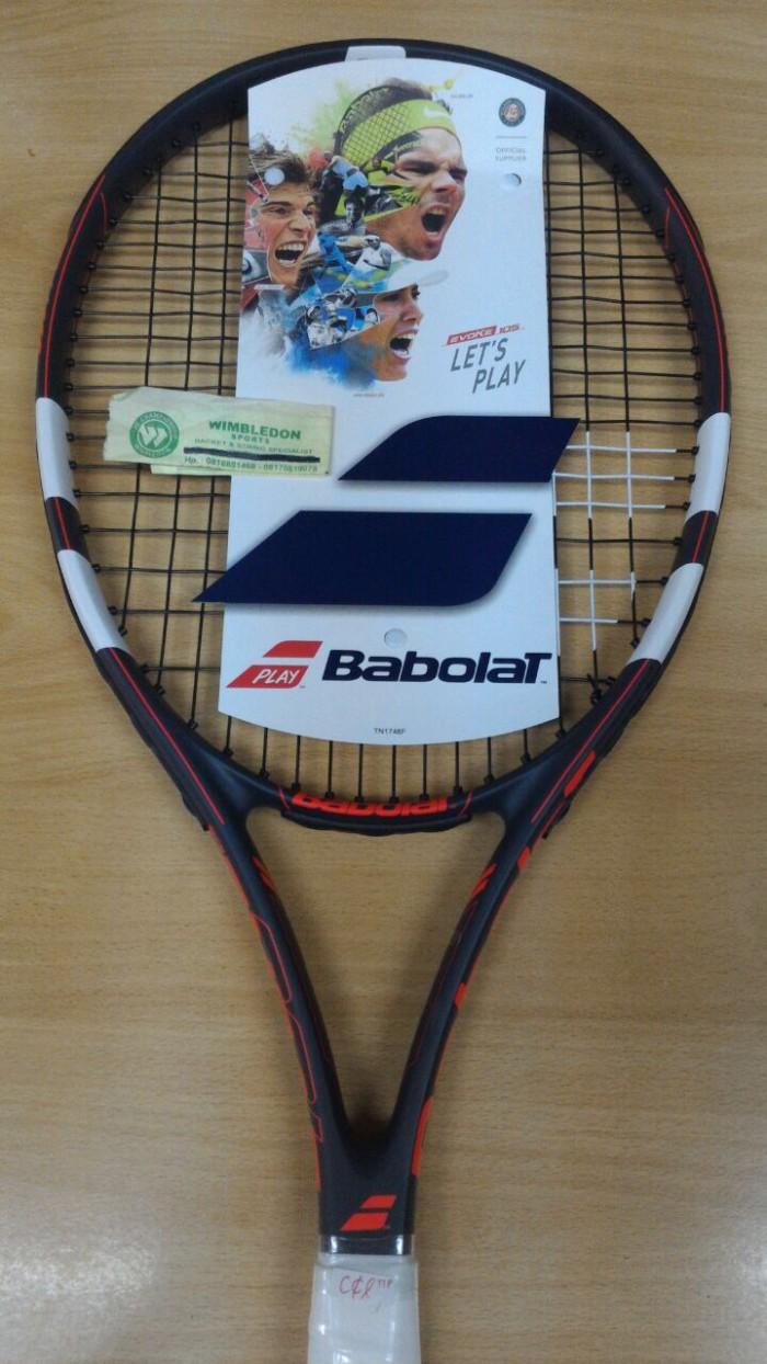 harga Raket tenis babolat evoke 105 / raket babolat evoke 105 Tokopedia.com