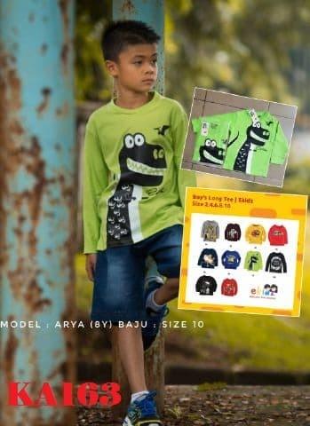 harga Kaos anak laki-laki lengan panjang terbaru termurah berkualitas kal03 Tokopedia.com