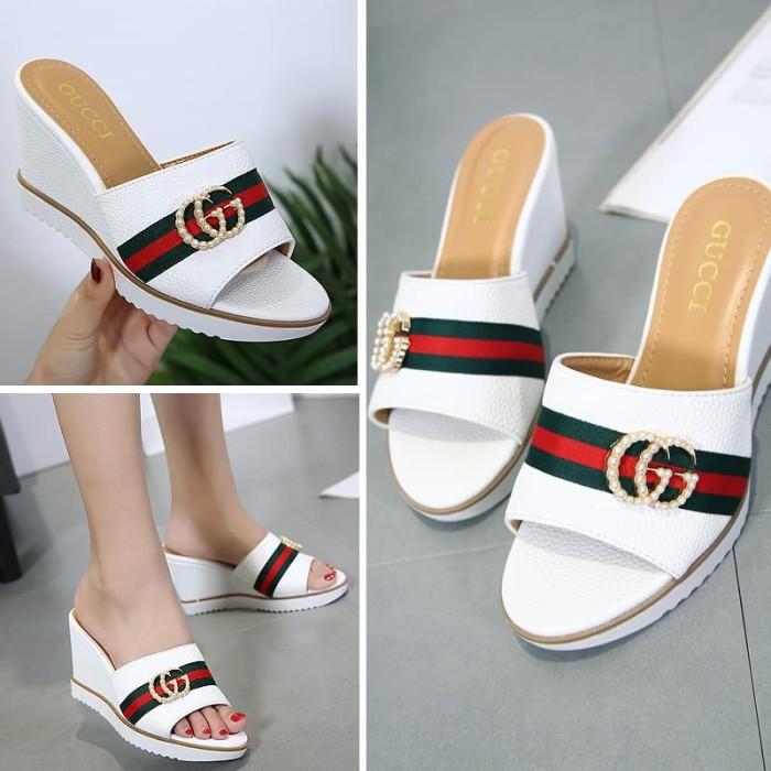 545219510812 Jual 1128 38 Sandal Gucci Wanita Phoebe Bag Tokopedia