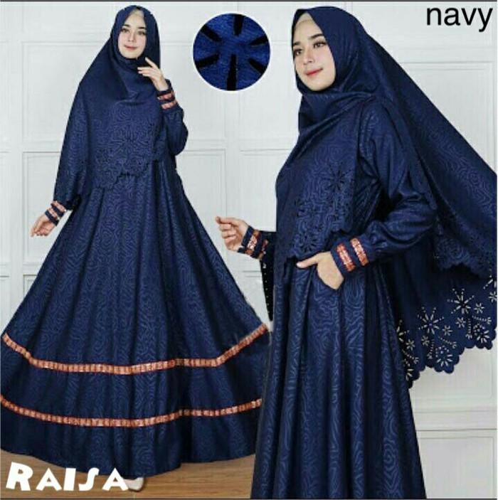 harga Gamis / baju / pakaian wanita muslim raisa syari high quality 2in1 Tokopedia.com