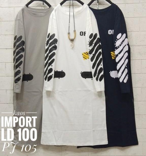 harga Baju kaos wanita import feb Tokopedia.com