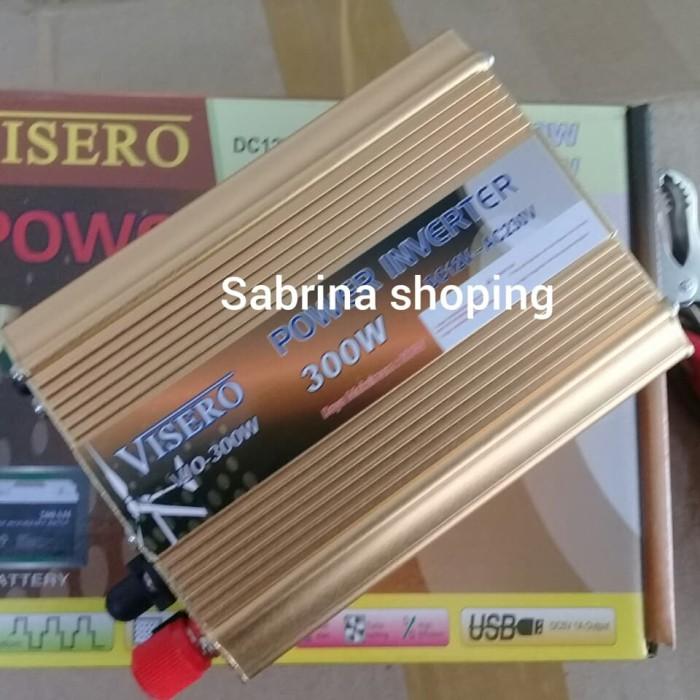 harga Power inverter 300 watt 300w 12v visero - ubah arus  dc to ac 300 watt Tokopedia.com