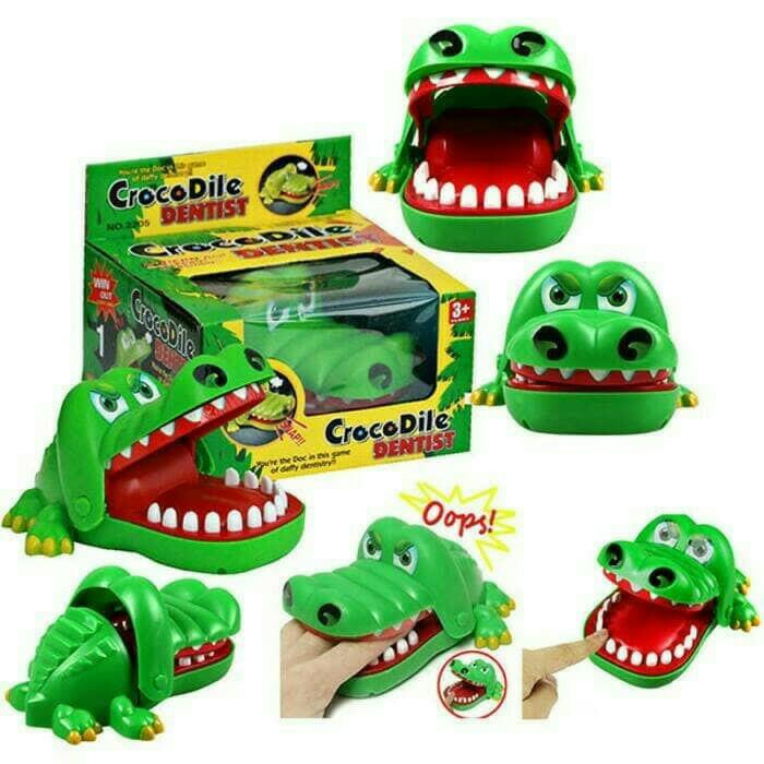 Foto Produk MAINAN ANAK CROCODILE DENTIST dari nambeng toys