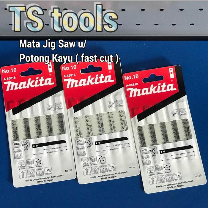 Mata Jig saw Makita no 10 / Mata Jigsaw Blade Makita no 10 U/Kayu Pipa