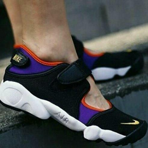 1545e7783f55c6 Jual Nike Air Rift OG Womens Black Forest   Black Purple - Marqces ...