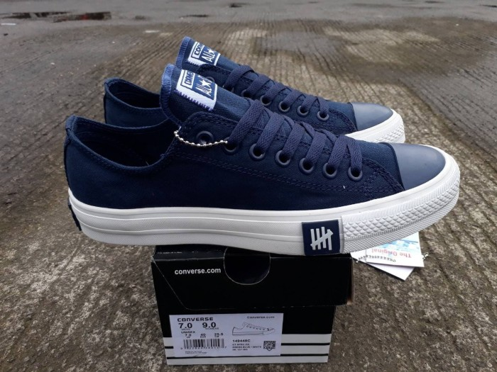 Jual SEPATU CONVERSE UNDEFEATED LOW NAVY ORIGINAL BNIB MADE IN ... 9690b40d45