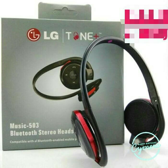 harga Headset bluetooth lg hs-503 music bluetooth stereo 503 Tokopedia.com