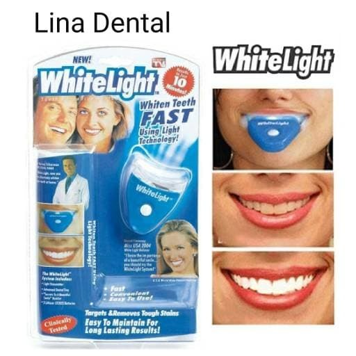 Jual Whitelight White Light Bahan Bleaching Gigi Pemutih Gigi