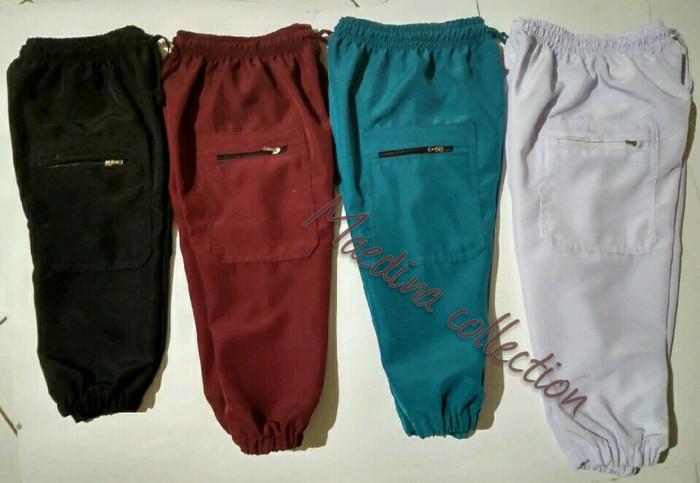 Foto Produk Ukuran no 4 5 6 celana pangsi jogger anak dari maedina colection