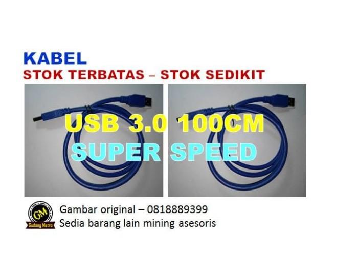 Foto Produk KABEL USB 3.0 SUPER SPEED UNTUK PCIE RISER - BITCOIN MINING dari Gudang Metro JKT