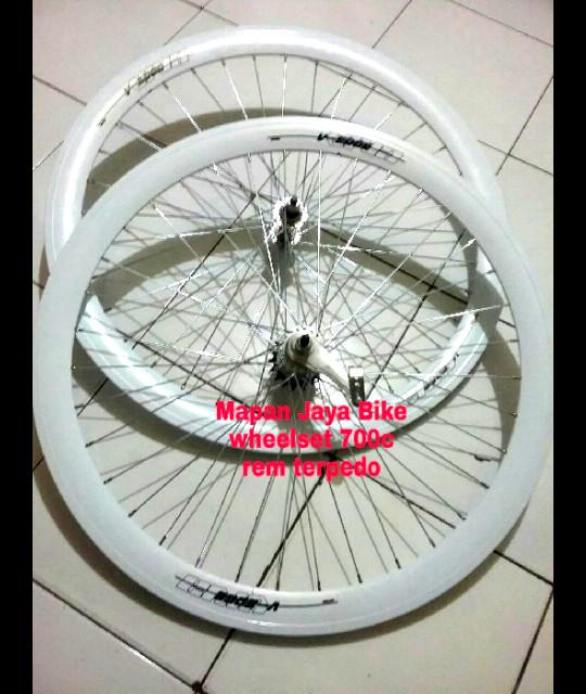 harga Wheelset swpeda fixie 700c 5cm hole 36 terpedo viva Tokopedia.com