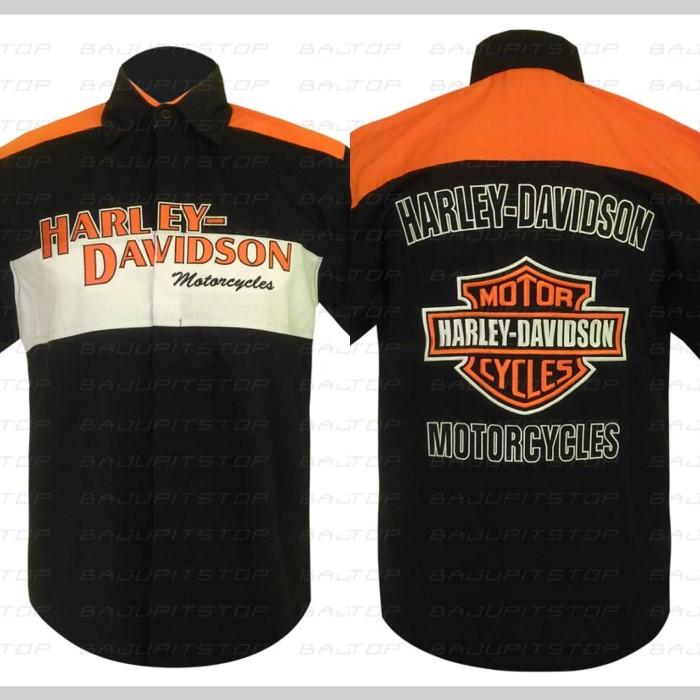 harga Baju kemeja motorsports harley davidson 34 kode bkd037 Tokopedia.com