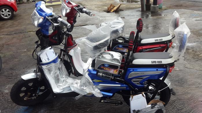 Termurah Sepeda Listrik Super Rider Earth Gold