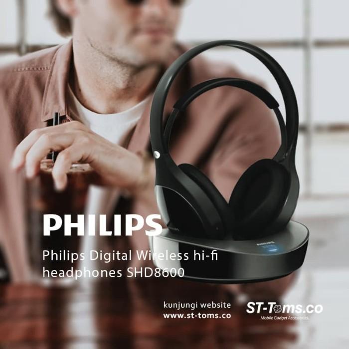 Jual Philips Digital Wireless Hi-Fi Headphones Shd8600 Harga Promo Terbaru