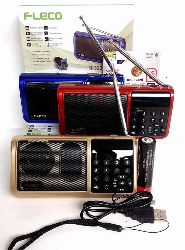 harga Speaker quran fleco digital am fm mini portabel 8gb Tokopedia.com