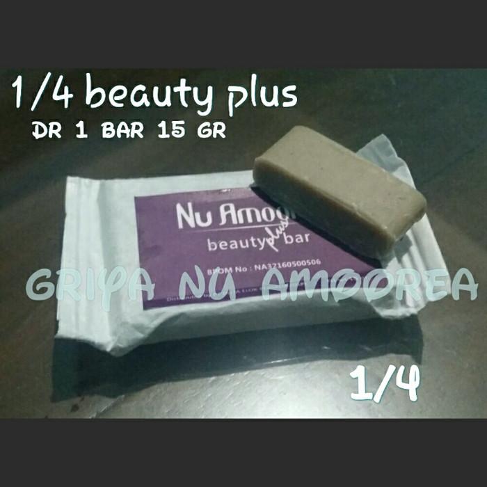 harga Sabun nu amoorea beauty plus bar 1/4 bar (1 bar 15 gr) original Tokopedia.com