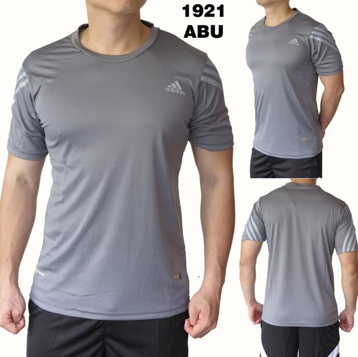 Jual Baju olahraga pria kaos 1921 abu - Silver King Shop  738a53a6c3