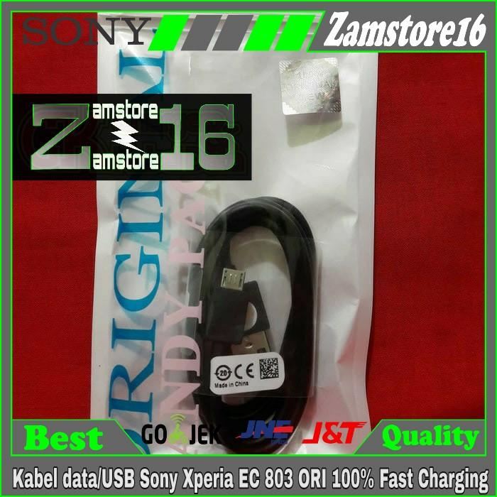 Kabel data/USB Sony Xperia EC 803 ORI 100% Fast Charging