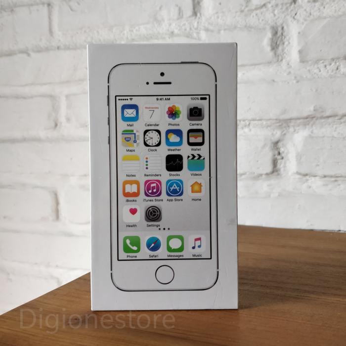 Jual iphone 5s silver 16gb 4g lte garansi resmi ibox cek harga di ... bee2c5ecbe