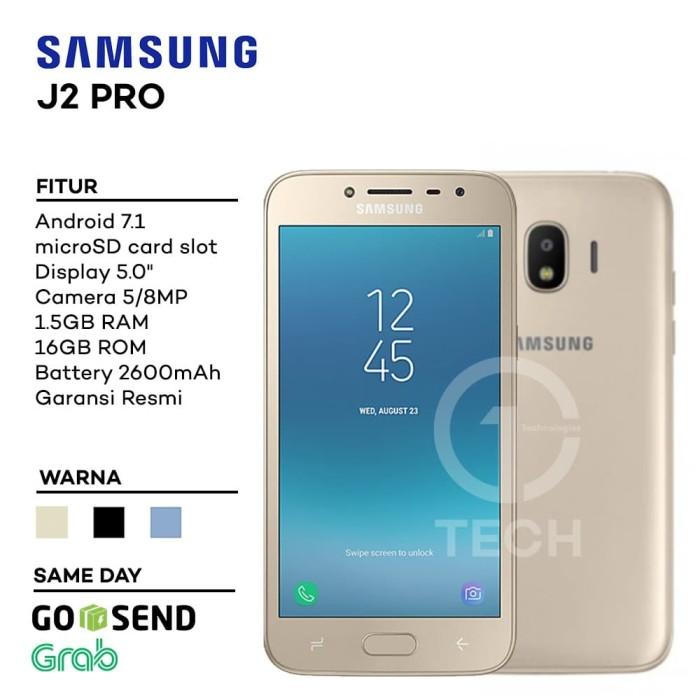 Jual Samsung Galaxy J2 Pro 2018 Garansi Resmi Hitam One