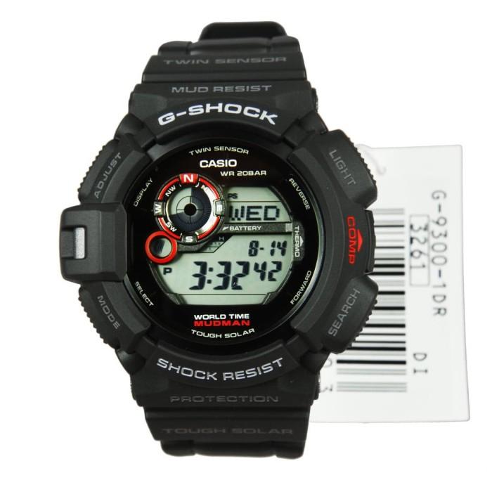 harga Casio gshock g-9300-1d g9300-1d original jam tangan new mudman Tokopedia.com