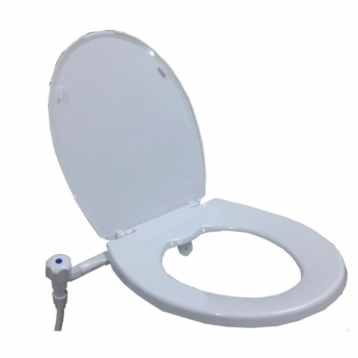 ... harga Tutup kloset duduk tutup closet monoblock techplas putih terlaris Tokopedia.com