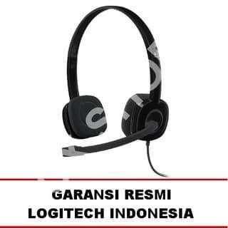 Logitech Stereo Headset H151 - Hitam.