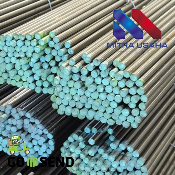 Jual AS ST41 DIA  12 MM SS400 AISI 1018 MILD STEEL ASTM A36 ROUND BAR -  Kota Tangerang - MUT Official Store | Tokopedia