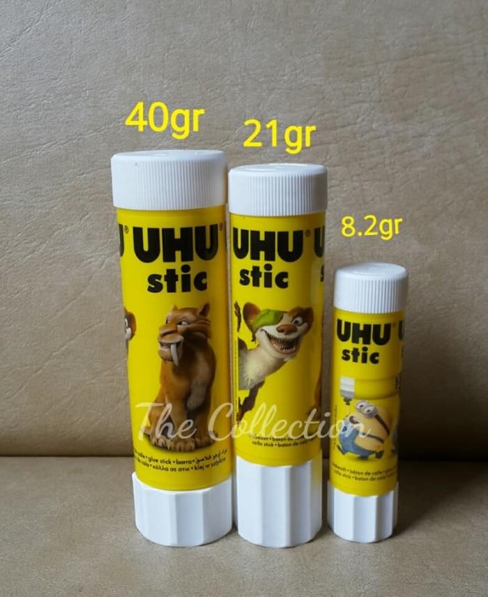 harga Atk106uhu 21gr uhu stic glue stick lem kertas perekat stationary paper Tokopedia.com