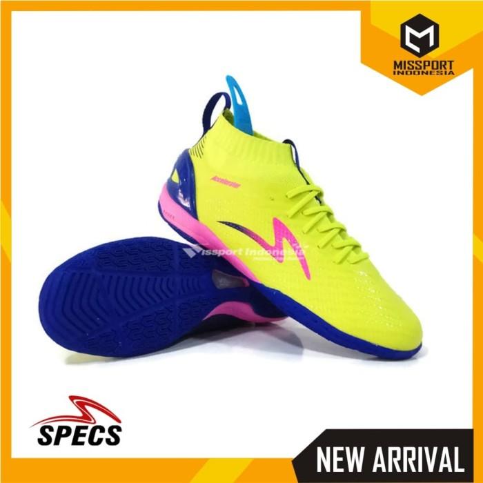 Sepatu Futsal SPECS ACCELERATOR INFINITY IN Solar Slime Original Promo