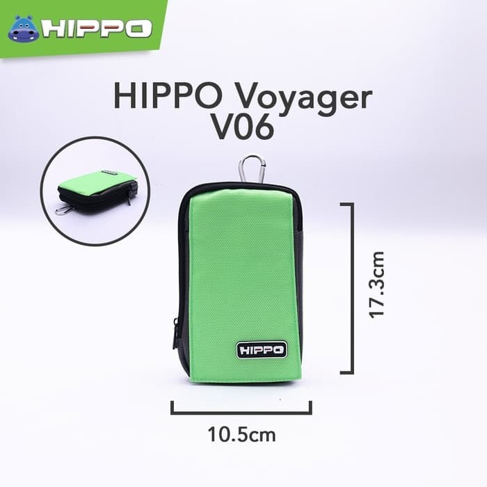 harga Hippo voyager v06 mini travel bag tas power bank organizer Tokopedia.com