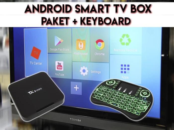 Jual PAKET SMART ANDROID TV BOX TX3 MINI + KEYBOARD WIRELESS - 2/16GB -  Jakarta Pusat - EtalaseBelanja   Tokopedia