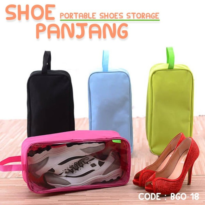 Jual Tas Sepatu Futsal Sport Shoes Organizer Shoe Bag Pouch - Obral ... d34d4e859d