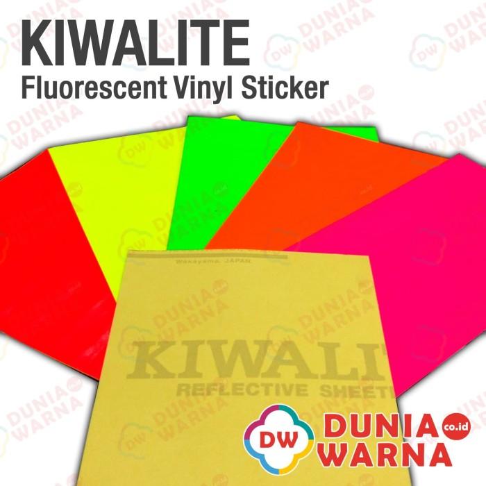 harga Kiwalite 2700 fluorescent vinyl sticker stabilo 50 cm meteran Tokopedia.com