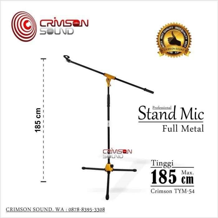 harga Stand mic full metal 185 cm crimson tym-54 Tokopedia.com