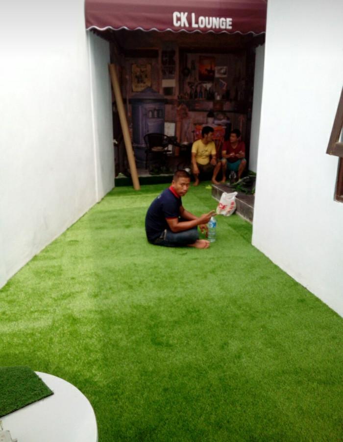 Jual Rumput Dekorasi Lantai Taman Indoor Atau Outdoor Pakai Rumput Sintetis - Kab. Bogor - RAHMAN FLORIS | Tokopedia