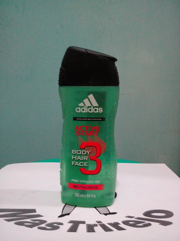 Jual Sabun Cair Parfum Adidas Active Start Shower Gel Hair Body