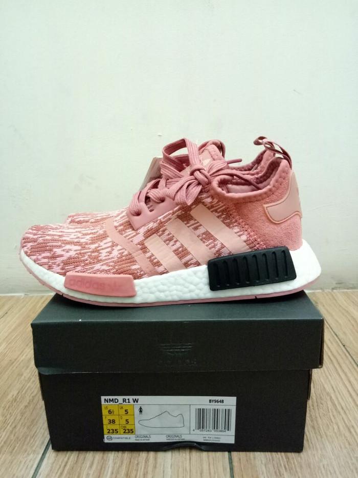 bb9d1705b Jual ADIDAS NMD R1 RAW PINK UA - brokers sneakers