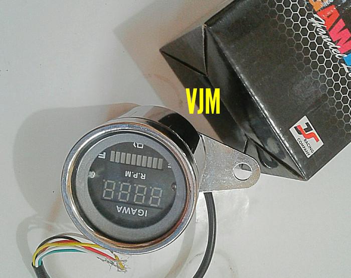 harga Pengukur bensin dan kilometer speedometer analog digital 2 in 1 impor Tokopedia.com