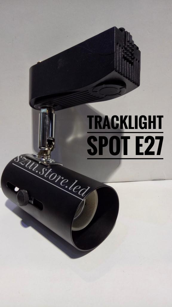 harga Tracklight spot e27 - 3cm bk -tracklamp rumah lampu sorot rell plafon Tokopedia.com