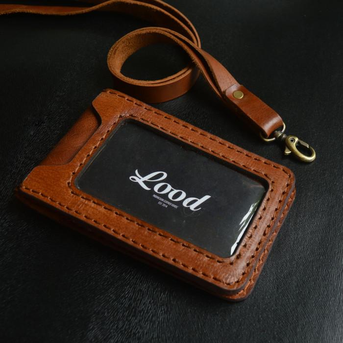 harga Id card holder kulit asli free laser nama Tokopedia.com