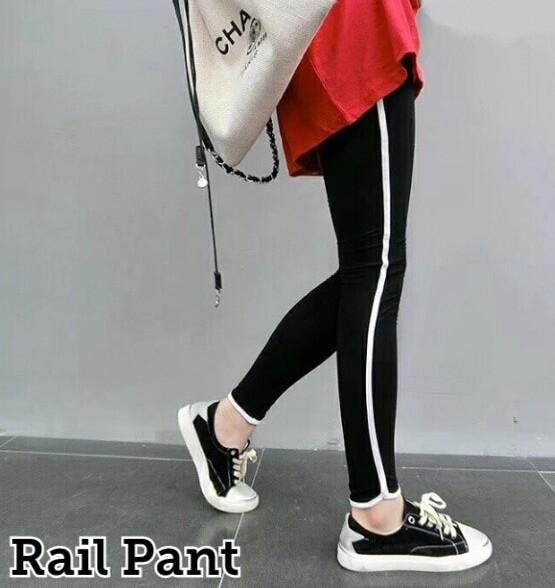 harga Celana panjang jogger pants list wanita hitan black olahraga senam Tokopedia.com