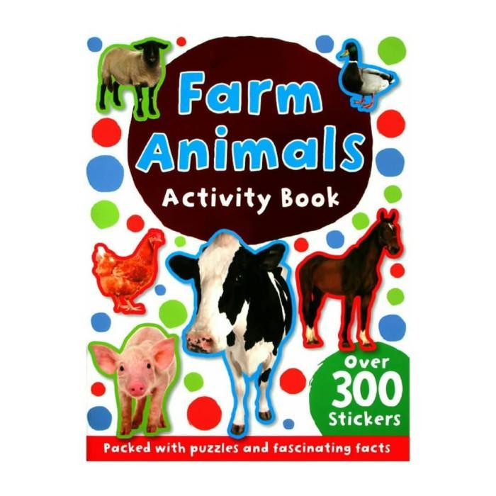Jual Buku Anak Import Farm Animals Sticker Activity Book - DKI Jakarta -  Lemarilia | Tokopedia