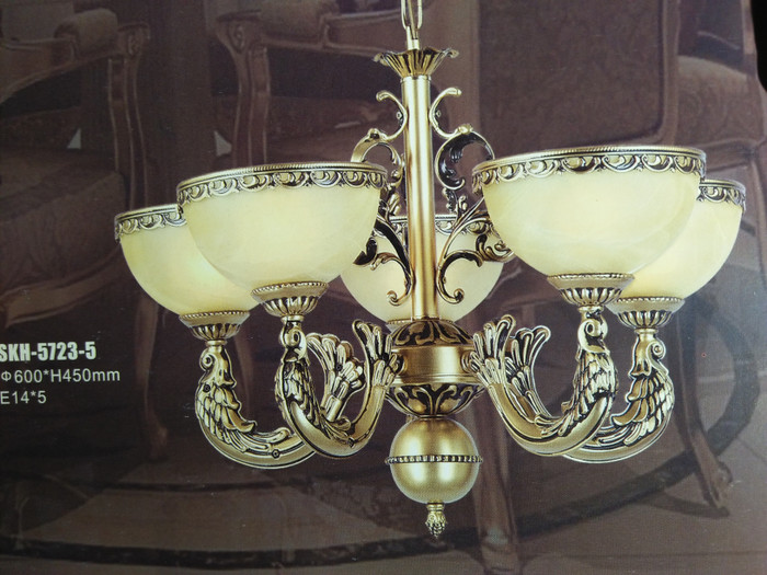 Lampu Hias Gantung Klasik Dekorasi Ruang Tamu Hotel Skh 5723 5 Harga